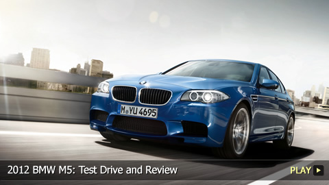 2012 BMW M5: Test Drive and Review