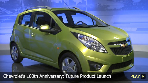 Chevrolet's 100th Anniversary: Future Product Launch