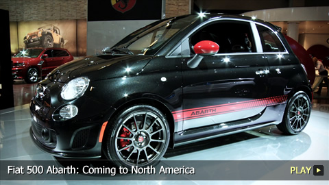 Fiat 500 Abarth: Coming to North America