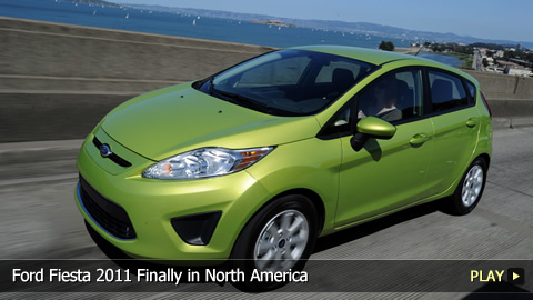 Ford Fiesta 2011 Finally in North America
