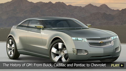 The History of General Motors: From Buick, Cadillac and Pontiac to