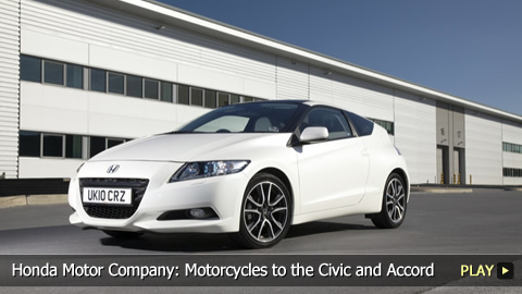 Honda Motor Company Motorcycles To The Civic And Accord