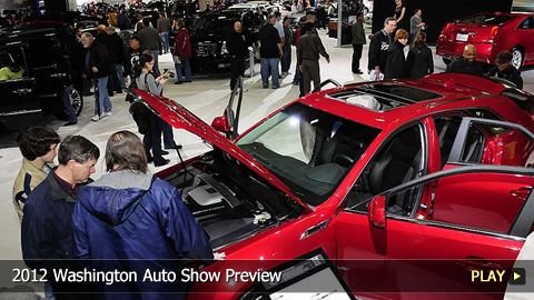 2012 Washington Auto Show Preview