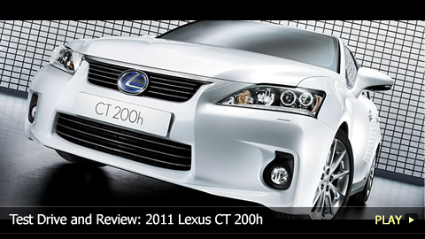 Test Drive and Review: 2011 Lexus CT 200h