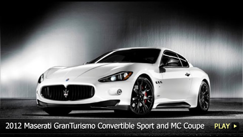 Test Drive: 2012 Maserati GranTurismo Convertible Sport and MC Coupe