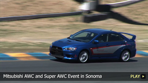 Mitsubishi All Wheel Control and Super All Wheel Control Event in Sonoma