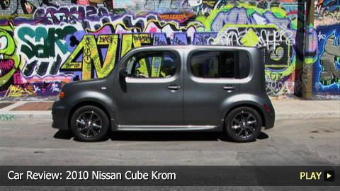 Test Drive 2010 Nissan Cube Krom Watchmojo