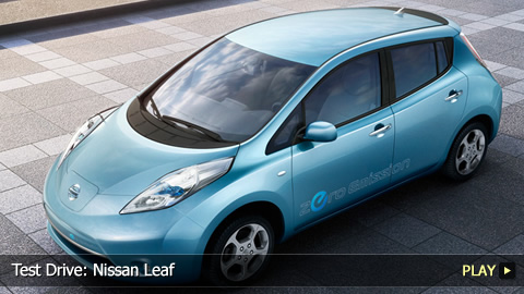 Test Drive: Nissan Leaf