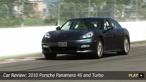 Test Drive: 2010 Porsche Panamera 4S and Turbo