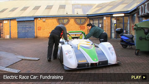 Electric Race Car: Fundraising