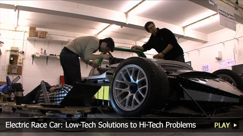 Electric Race Car: Low-Tech Solutions to Hi-Tech Problems
