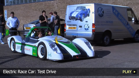 Electric Race Car: Test Drive
