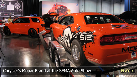 Chrysler's Mopar Brand at the SEMA Auto Show