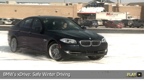 BMW's xDrive: Safe Winter Driving