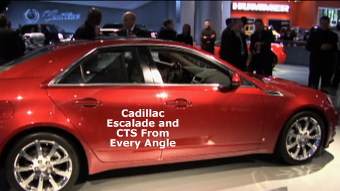 Cadillac CTS and Escalade Overview