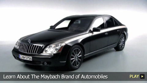 Learn About The Maybach Brand of Automobiles