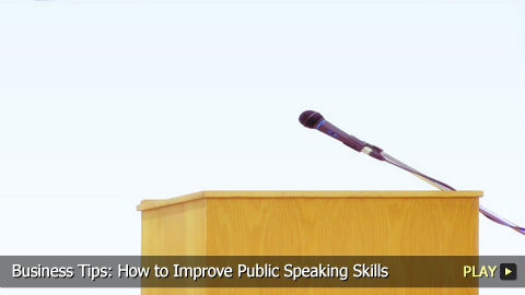How To Improve Your Public Speaking Skills