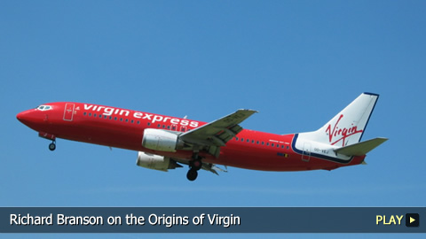 Richard Branson on the Origins of Virgin