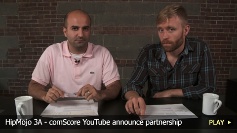 HipMojo 3A - comScore YouTube announce partnership