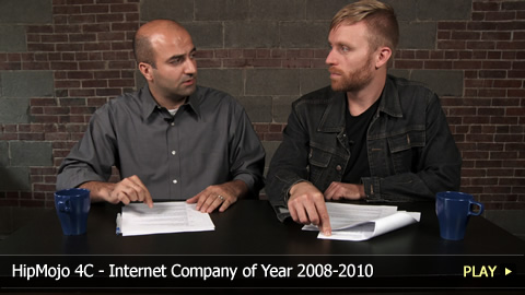 HipMojo 4C - Internet Company of Year 2008-2010