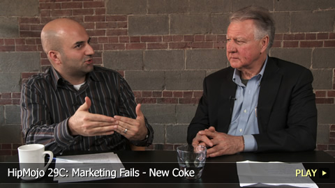 HipMojo 29C: Marketing Fails - New Coke