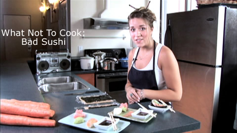 Comedy Skit: Bad Kitchen - Sushi