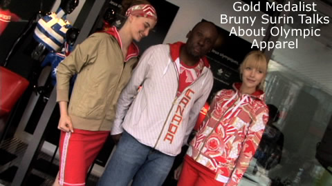 Gold Medalist Bruny Surin Talks About Olympic Apparel