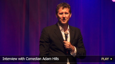 Interview with Comedian Adam Hills