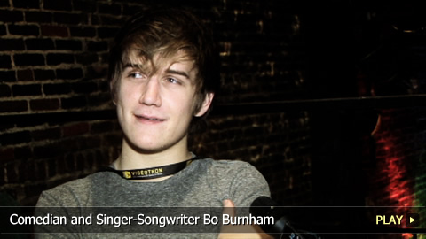 Comedian and Singer-Songwriter Bo Burnham