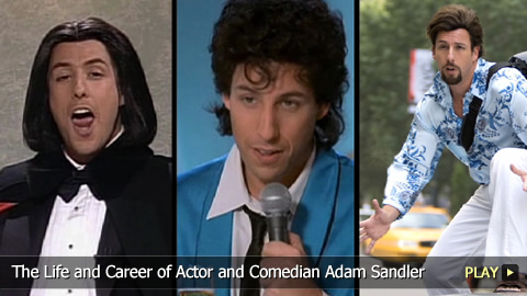 The Life and Career of Actor and Comedian Adam Sandler