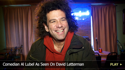 Comedian Al Lubel As Seen On David Letterman