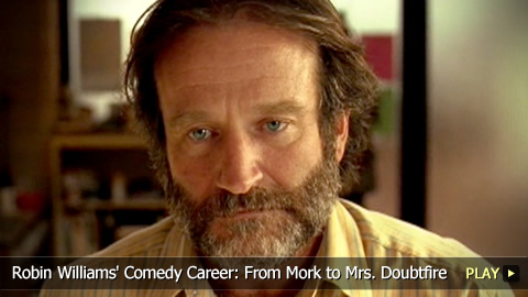 Robin Williams' Comedy Career: From Mork to Mrs. Doubtfire