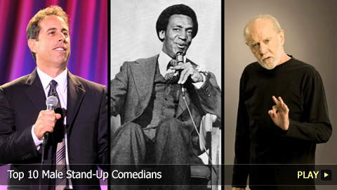 Top 10 Male Stand-Up Comedians