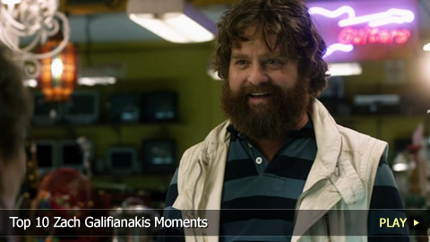 Top 10 Zach Galifianakis Moments