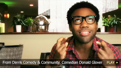From Derrick Comedy and Community, Comedian Donald Glover