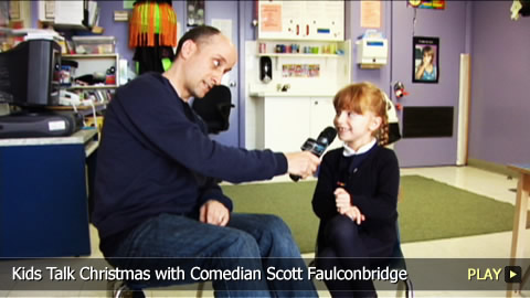 Kids Talk Christmas with Comedian Scott Faulconbridge