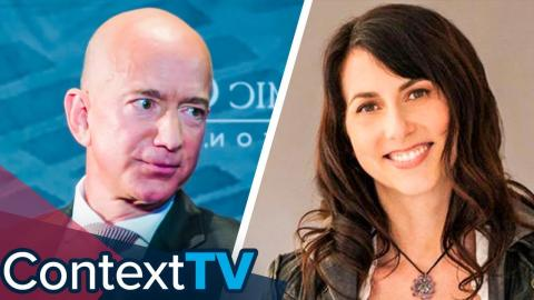 Why Did MacKenzie Bezos give 75% of Amazon to Jeff Bezos