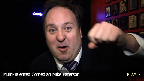 Multi-Talented Comedian Mike Paterson