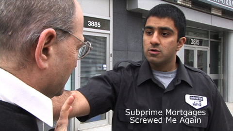 Comedy Skit: Subprime Mortgages