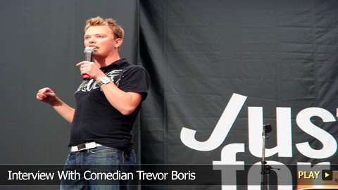 Interview With Comedian Trevor Boris