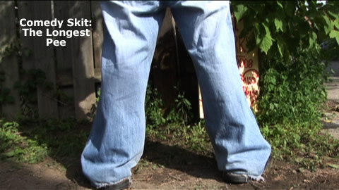 Comedy Skit: The Longest Pee