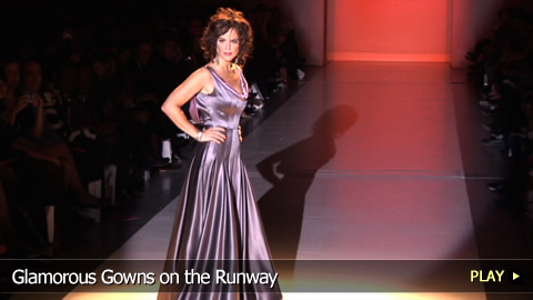 Glamorous Gowns On The Runway