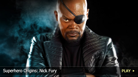 Superhero Origins: Nick Fury
