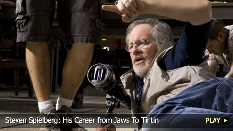 Steven Spielberg: His Career from Jaws To Tintin
