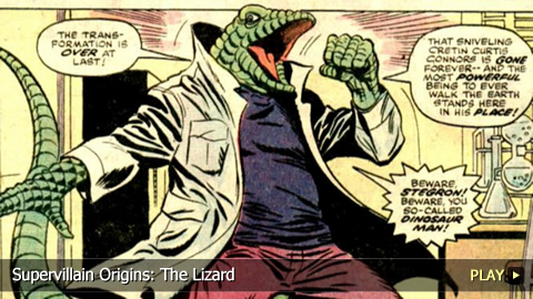 Supervillain Origins: The Lizard