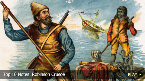 Top 10 Notes: Robinson Crusoe
