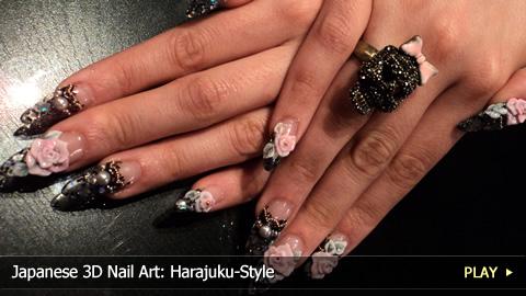 Japanese 3d Nail Art Harajuku Style Watchmojo