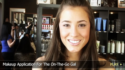 Makeup Application For The On-The-Go Gal