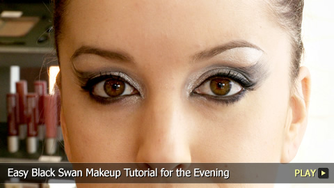 african american makeup tutorials. PLAY middot; Easy Black Swan Makeup