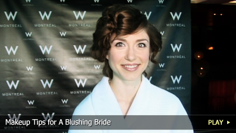 Makeup Tips for A Blushing Bride